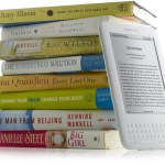 Kindle stack of books