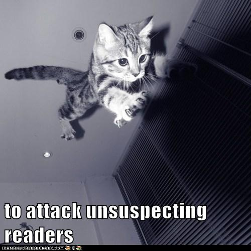 attacking unsuspecting readers