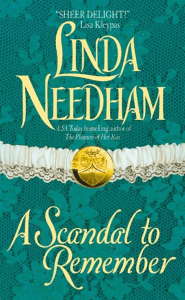 A Scandal to Remember (Gentlemen Rogues) by Linda Needham