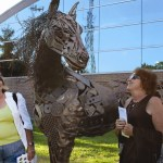$16,000 donation to Dearborn Community Fund keeps popular horse sculpture in Dearborn