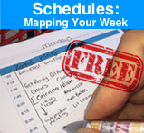 map schedules