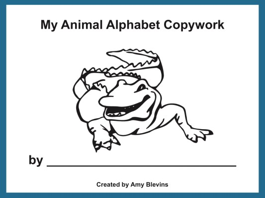 Homeschool Copywork: ABC