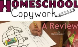 Homeschool Copywork feature