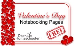 Valentine's Day Notebooking Pages F