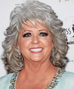 Paula Deen and her 400 pound eyelashes
