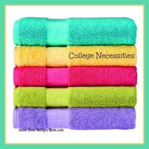 towels for college necessities for college