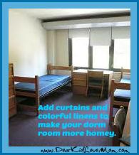 make dorm room homey