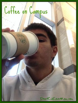 Coffee on Campus, DearKidLoveMom.com