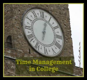 Time management in college