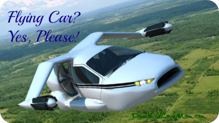 Flying car? Yes Please DearKidLoveMom.com