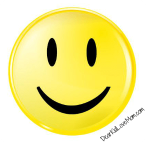 The first emoticon--the smiley face--invented in Pittsburgh. DearKidLoveMom.com