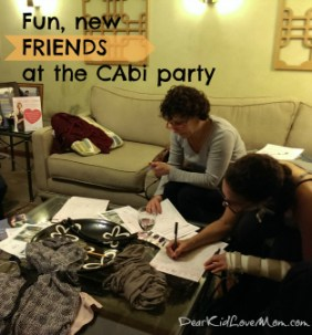 CAbi New friends at the party DearKidLoveMom.com