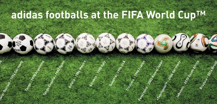 Adidas introduces new ball, Brazuca, for FIFA World Cup 2014 DearKidLoveMom.com
