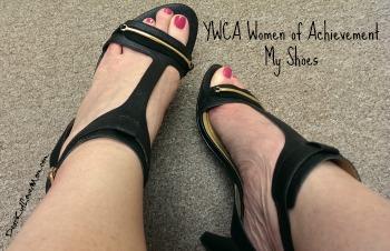 YWCA Women of Achievement My Shoes DearKidLoveMom.com