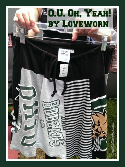 O.U. Oh, Yeah skirt by loveworn.net DearKidLoveMom.com
