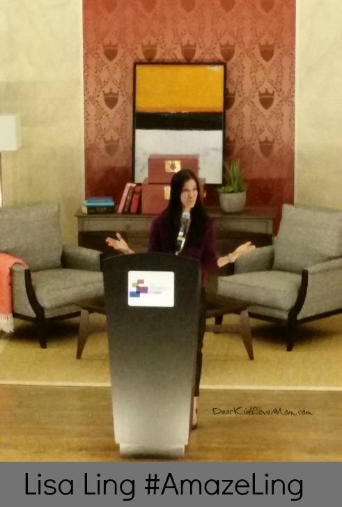 Lisa Ling at Cincinnati's Memorial Hall #AmazeLing DearKidLoveMom.com