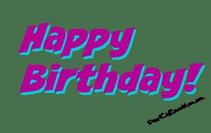 Happy Birthday! DearKidLoveMom.com