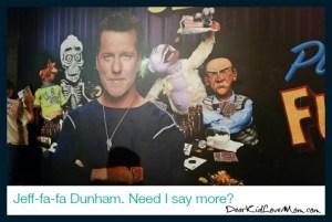 Jeff Dunham Not Playing with a Full Deck. DearKidLoveMom.com