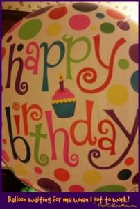 Happy Birthday Balloon. DearKidLoveMom.com