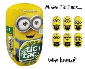 Minion Tic Tacs in... Banana! DearKidLoveMom.com