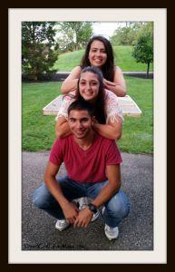 Tal and Kids totem pole. DearKidLoveMom.com