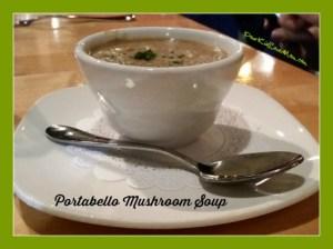 Portabello Mushroom Soup.Learning How To Speak Standard Restaurant Arrival Banter. DearKidLoveMom.com