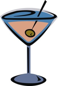 Once upon a time, there was no such thing as a martini. This made all the olives very sad. So the olives unionized and invented cocktail hour and James Bond. DearKidLoveMom.com