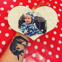 English Charm Co. Wooden Heart Keepsake Review