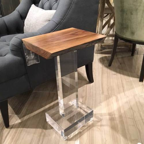 Medium Of Acrylic Side Table