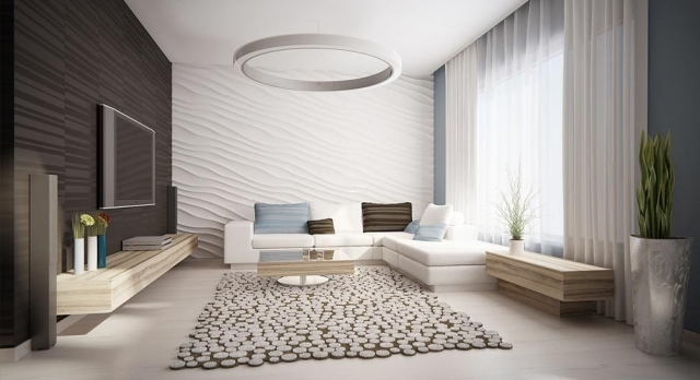 Wohnzimmer gestalten grau weiss  wohnzimmer einrichtung weiss kuhl on moderne deko idee auch 8 ...