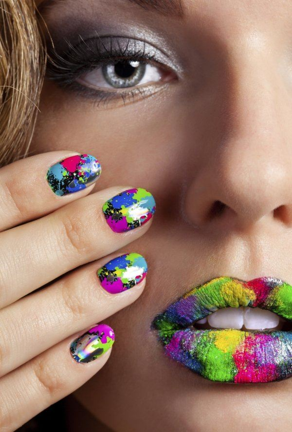 ongles nail art swag tendance 2015 couleurs