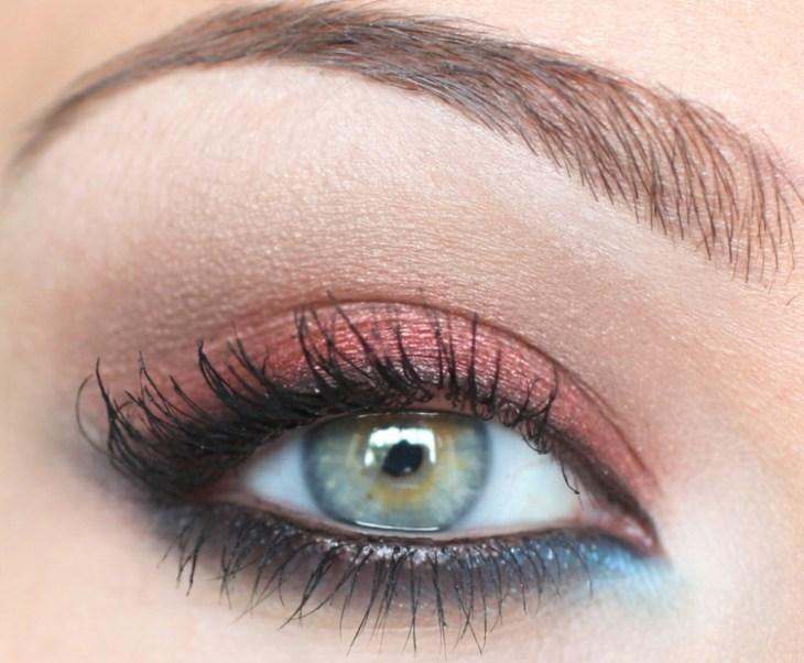 idees-maquillage-ete-mascara-fard-paupières-rose-bleu2 idées maquillage