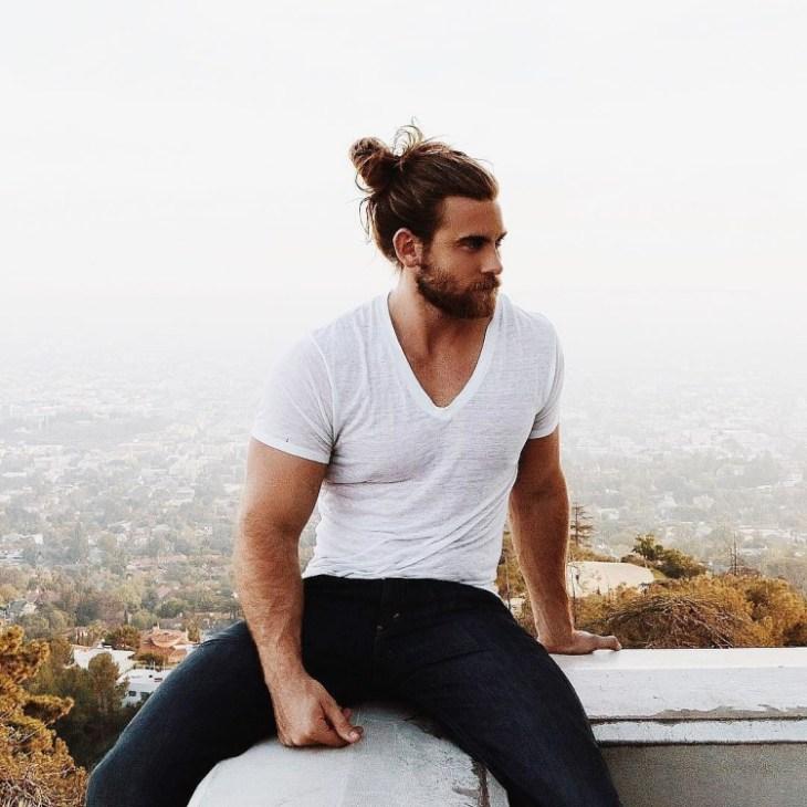 coupe-cheveux-homme-2016-chignon-naturel