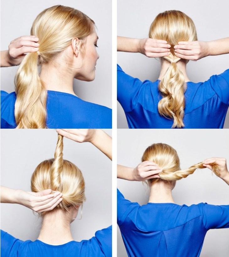 coiffure-vintage-faire-soi-même-chignon-bas-original