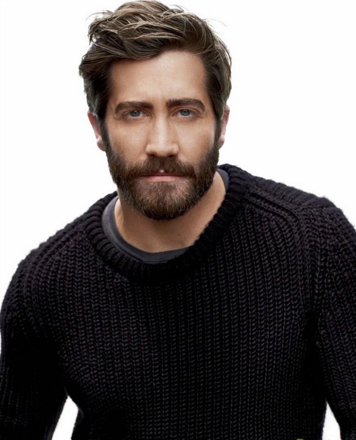 idée de style de barbe tendance 2016- la barbe-courte-taillée-Jake-Gyllenhaal