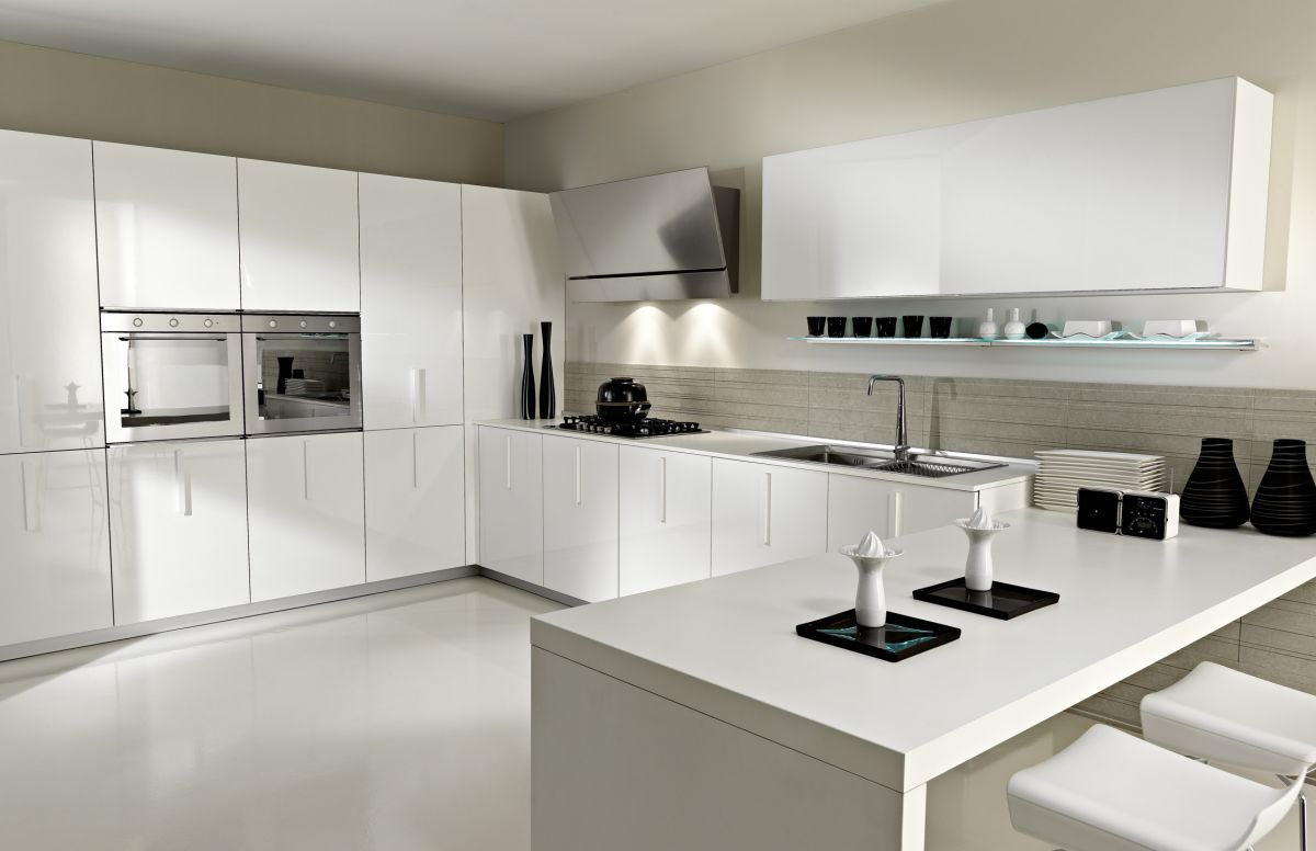 33 modern white contemporary and minimal kitchen designs kitchen design ideas 33 Modern white contemporary and minimalist kitchen designs