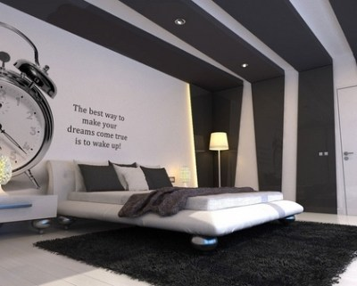 Teen bedroom wall decoration ideas – cool photo wallpapers and decals