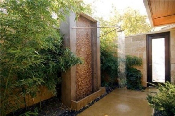 N Outdoor Shower Ideas U2013 How To Choose The Best Material