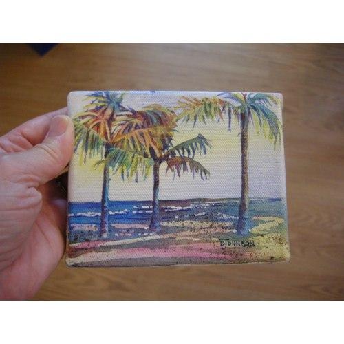 Medium Crop Of Watercolor On Canvas