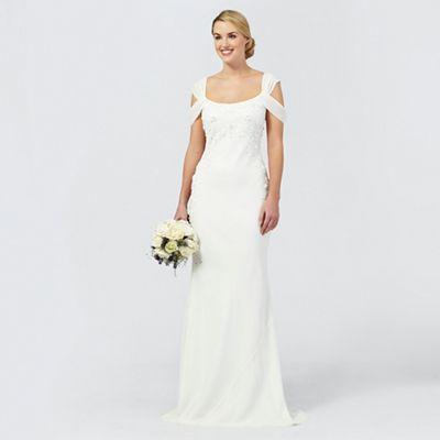 wedding dresses wedding dresse Ben De Lisi Occasion Ivory sequin Julianne wedding dress