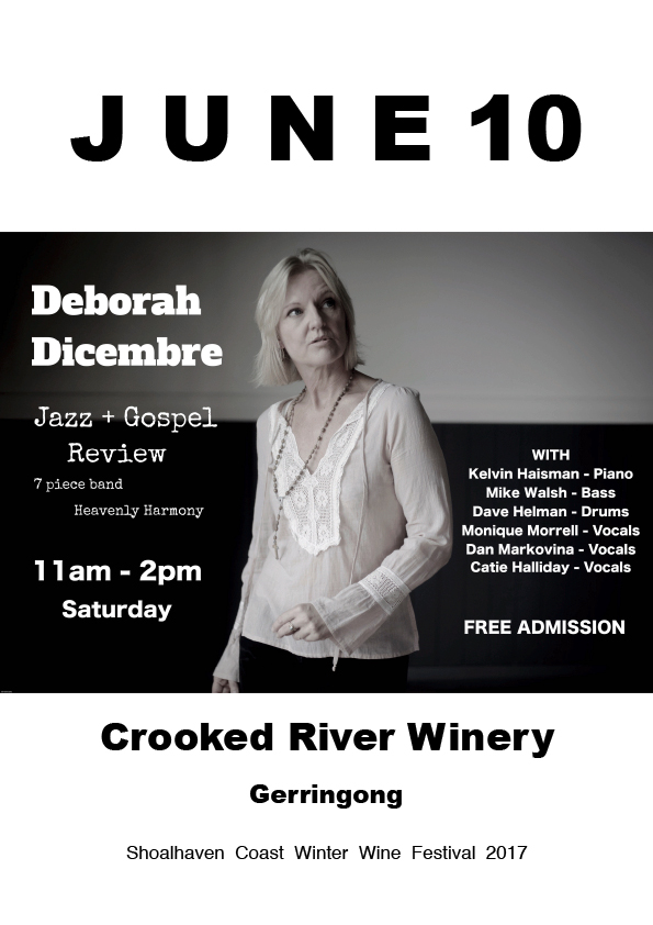 Winter Wine Festival at Crooked River - Deborah Dicembre Gig