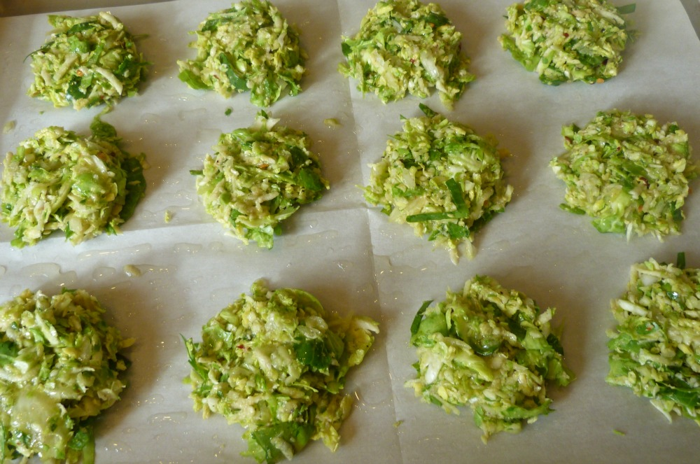 brussels sprouts latkes pre bake