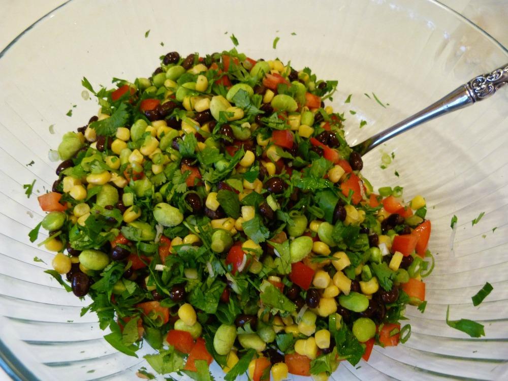 veggies for quinoa salad