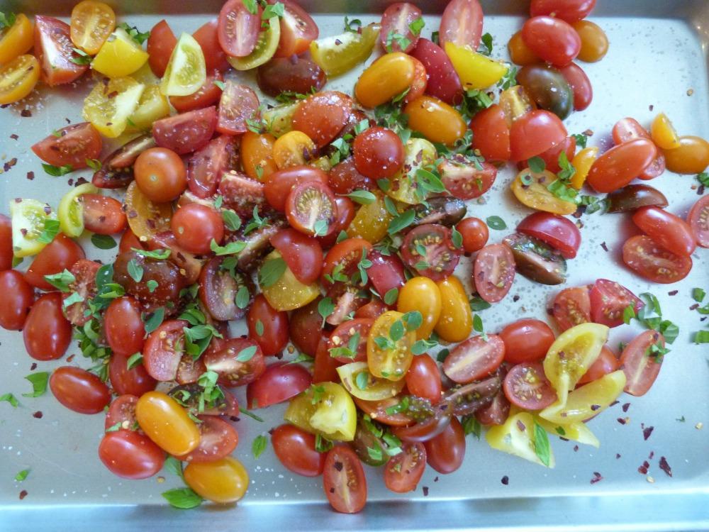 Seasoned Tomatoes