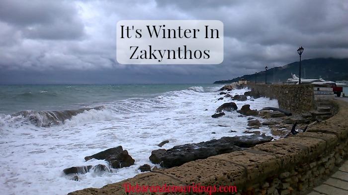 It's Winter In Zakynthos!