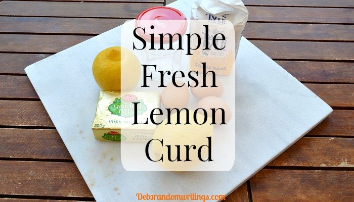 Simple Fresh Lemon Curd Recipe