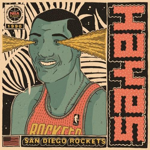 Sterling San Diego Rockets Florian Schommer Debut Art San Diego Rockets Arena San Diego Rockets Aba