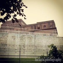 The menacing old prison itself. Camera: Samsung Galaxy S4