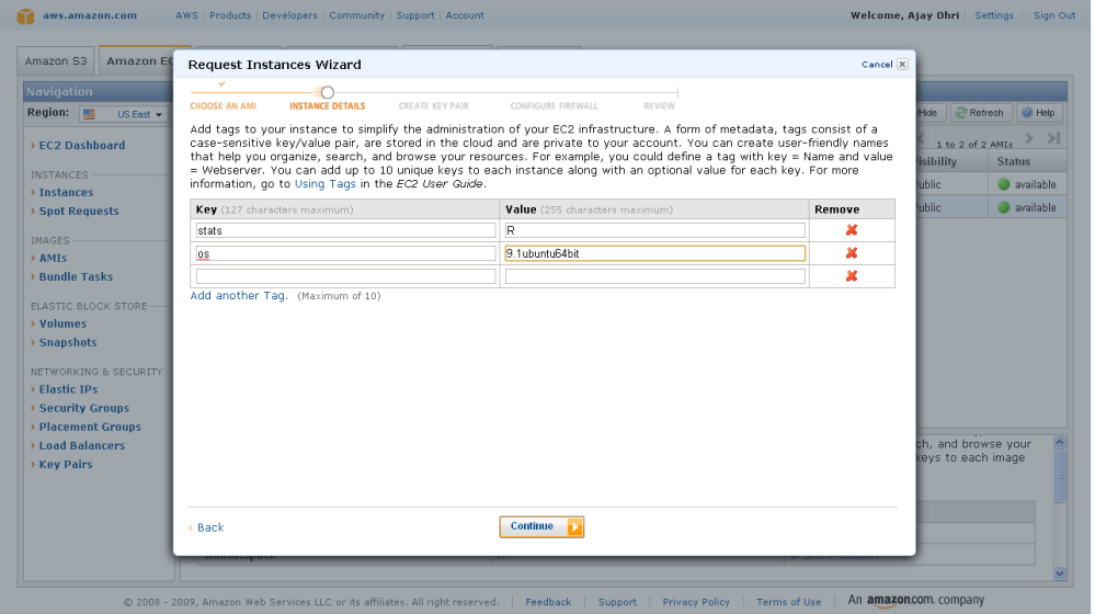 Running R on Amazon EC2 (4/6)