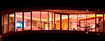 Außenansicht der Lichtgestaltung